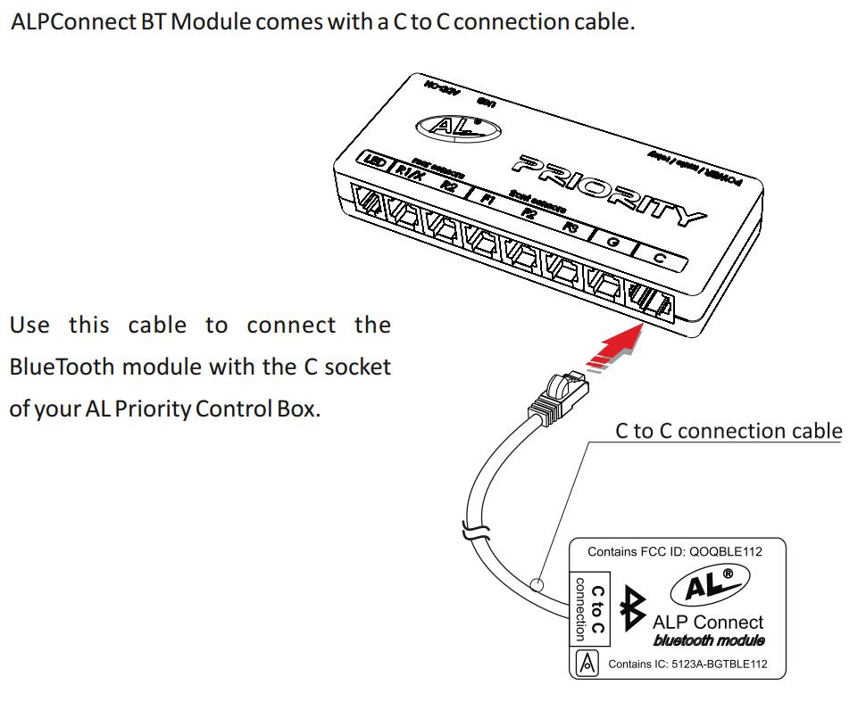 Bluetooth Module for ALPriority