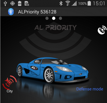Bluetooth Module for ALPriority