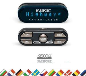 Escort Passport 9500Ci International