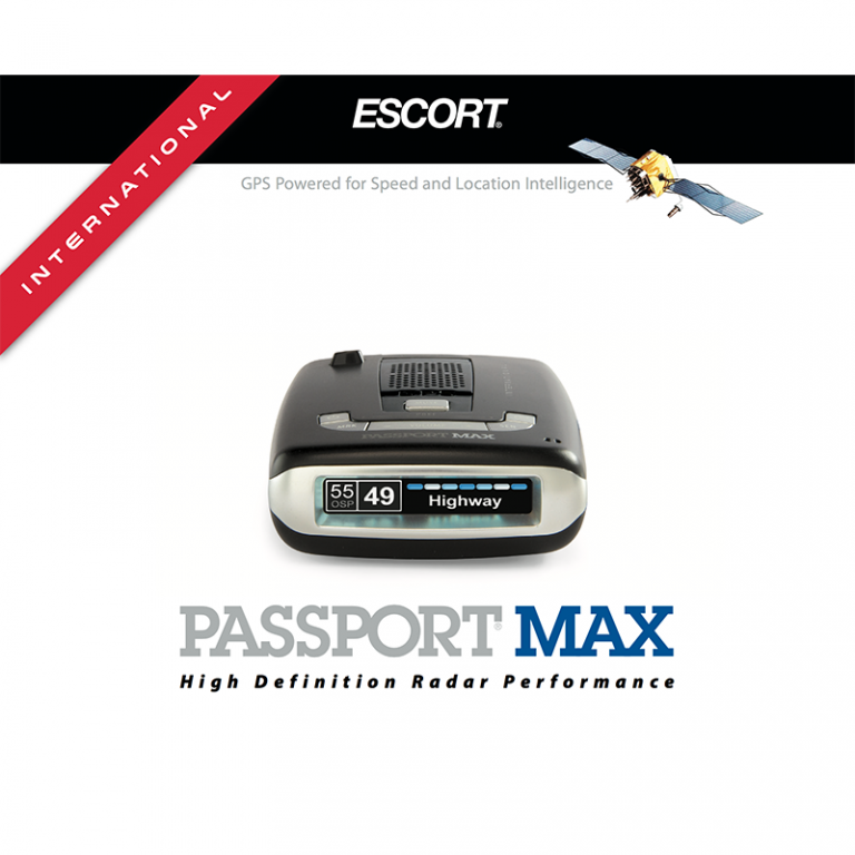 Escort Passport Max International