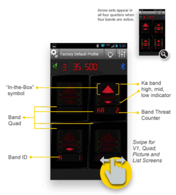 V1Connection LE for iOS and Android