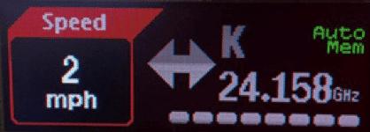 Uniden R7 Auto Mute Memory