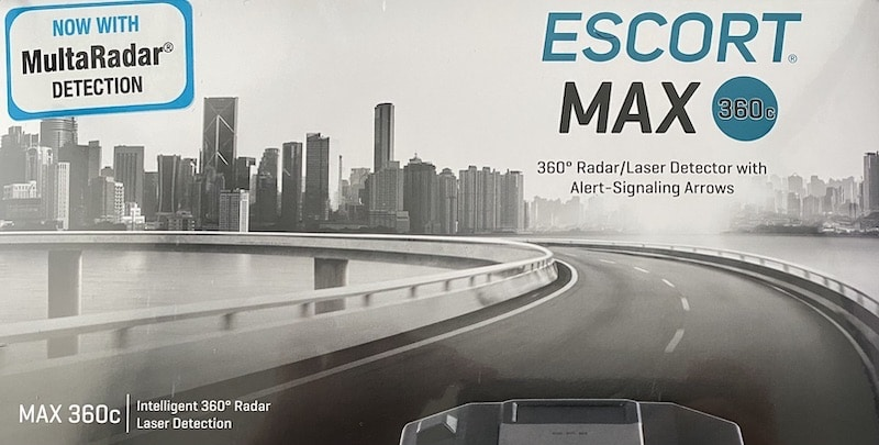 Escort Max 360c with MRCD