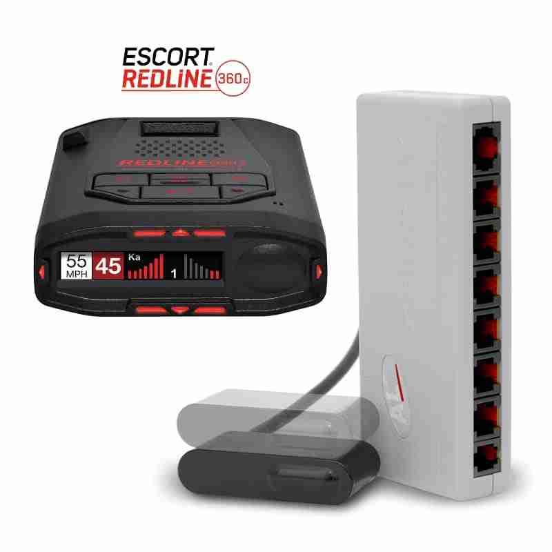 Escort Redline 360c with ALP laser jammer